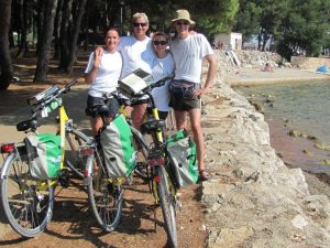 MTB bike tour parenzana