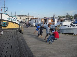 Bambini_bici e barca_ bici e vacanze