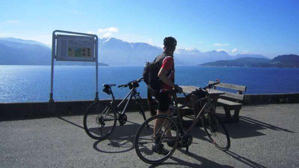 Fiordo norvegia in bici