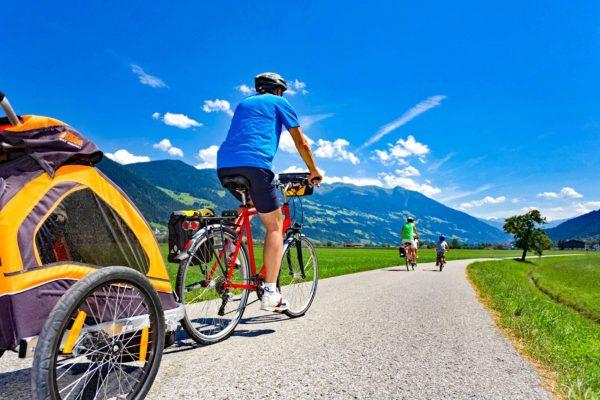 Ciclabile dei Tauri in bici e vacanza