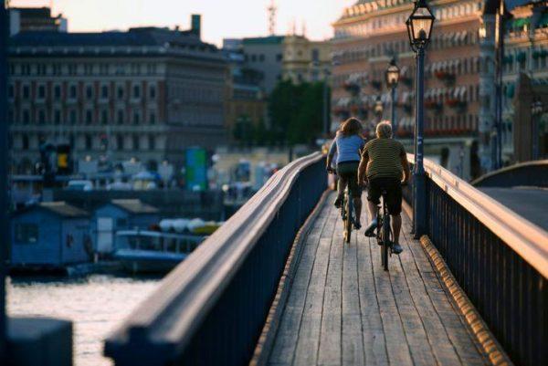 Svezia Vacanze in bici, pista ciclabile, cicloturismo