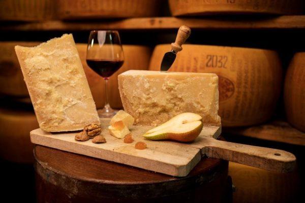 Grana and Wine - Parmesan Cheese