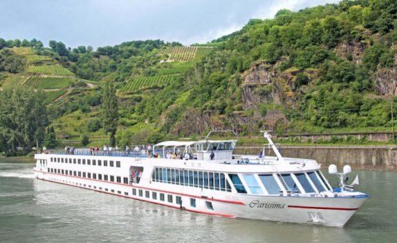 barca Carissima ciclabile del danubio