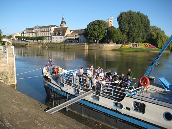 Bici e Barca,Borgogna, Bici e vacanze