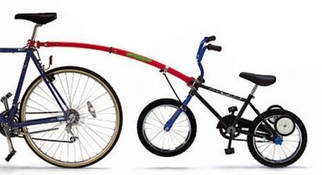 accessorio bici per traino bambini