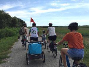 Tour in bici di gruppo delta del po