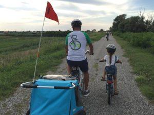 Bici e vacanze famiglia bicicletta