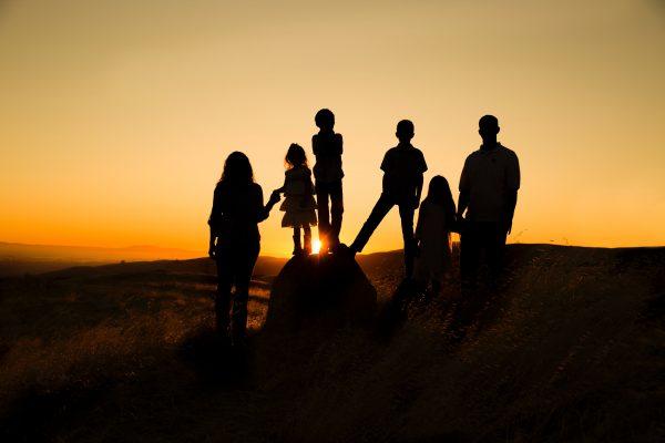 famiglia_tramonto