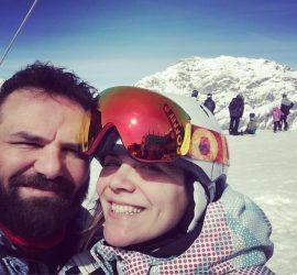 4 chiacchiere con Valentina Acerboni_ vale e max_sciare_montagna_neve