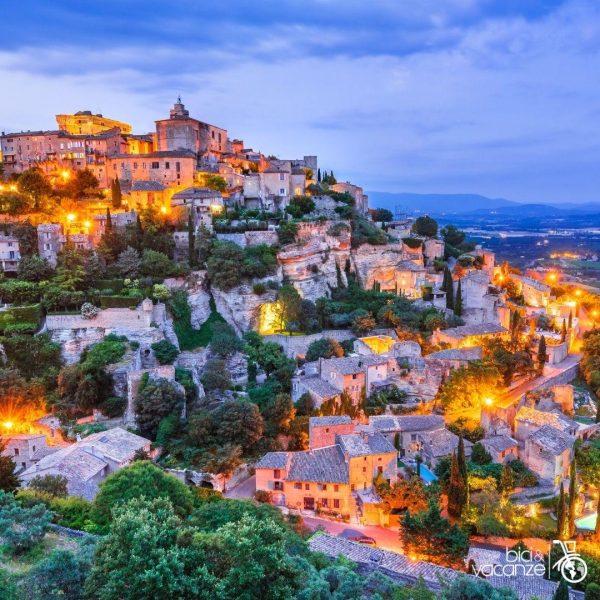 provenza villaggio tramonto