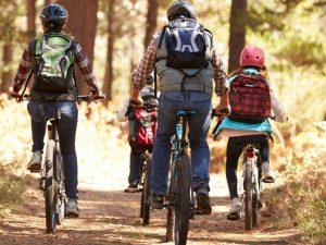 famiglia bici