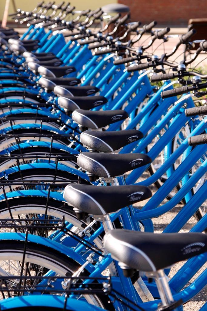 Flotta bici blu