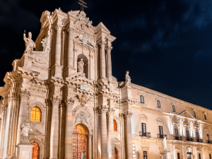Duomo Ortigia siracusa notte