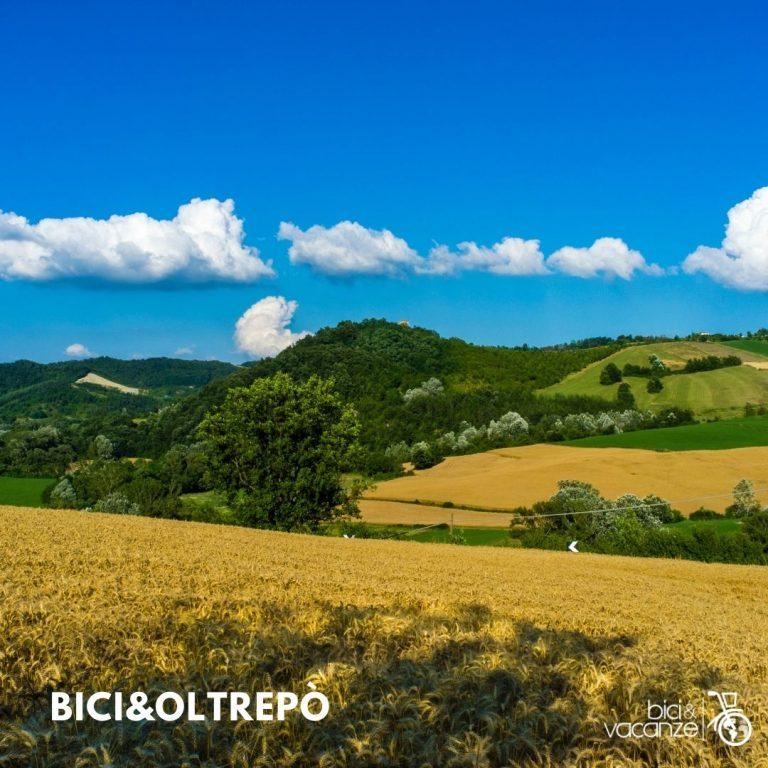 Tour e viaggi in bici e e-bike in oltrepò pavese; bici e vacanze