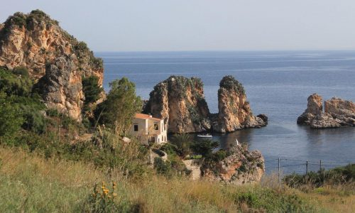 Tonnara di Scopello Sicily bike tour bici & vacanze